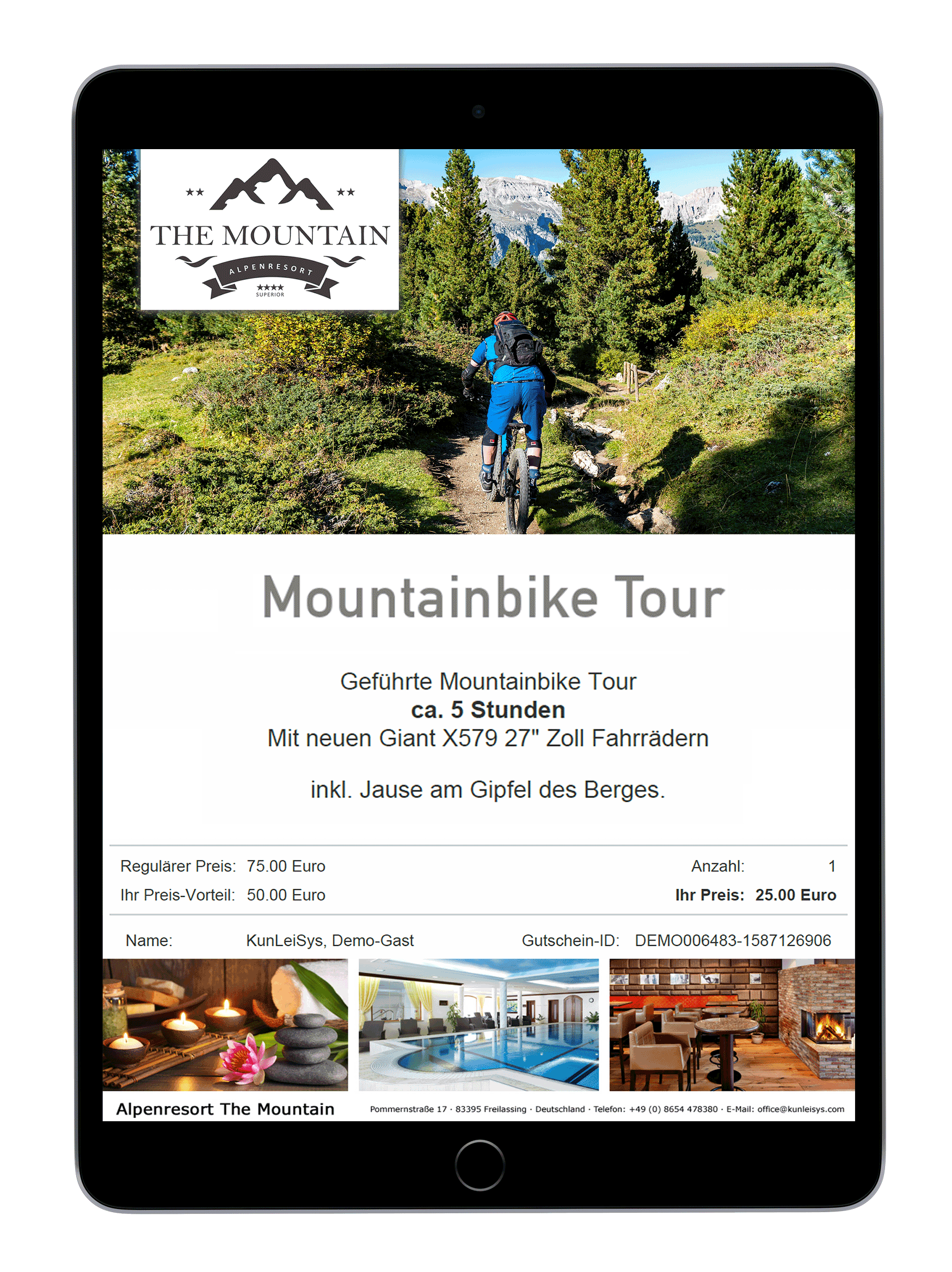 KunLeiSys Goodie-Gutschein-Mountainbike